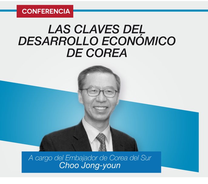 Conferencia: El sorprendente desarrollo de la economía coreana