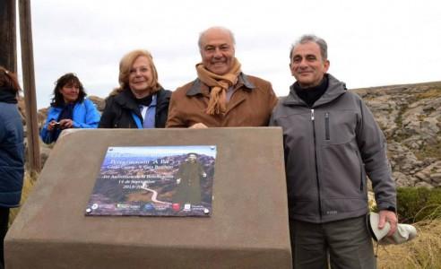 Lic. Marta Botti, Prof. Alberto Ferral, Dr. Alejandro Consigli