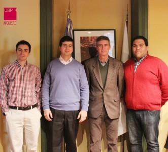 """Estudiantes de la UBP beneficiados por el """"Delta G"""""""