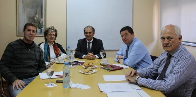 Julio Perotti (La Voz) y Gastón Roitberg (La Nación), miembros del Consejo Consultivo de carreras de comunicación UBP