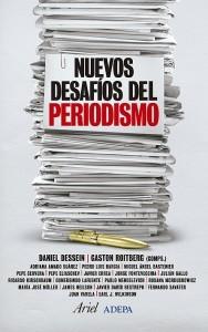 """Tapa del libro: """"Nuevos desafíos del periodismo"""""""