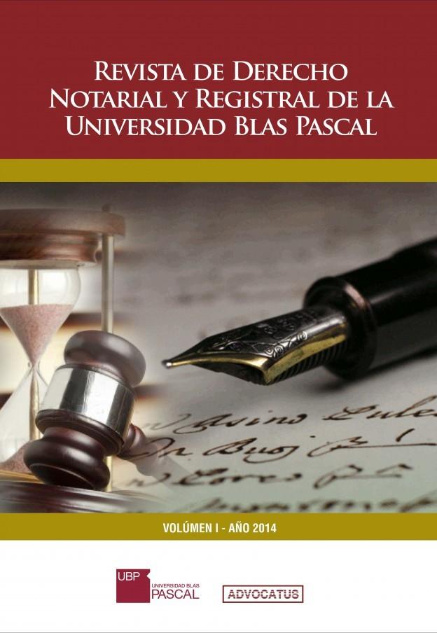 """La UBP lanza la nueva revista: """"Estudios del Derecho Notarial y Registral"""""""