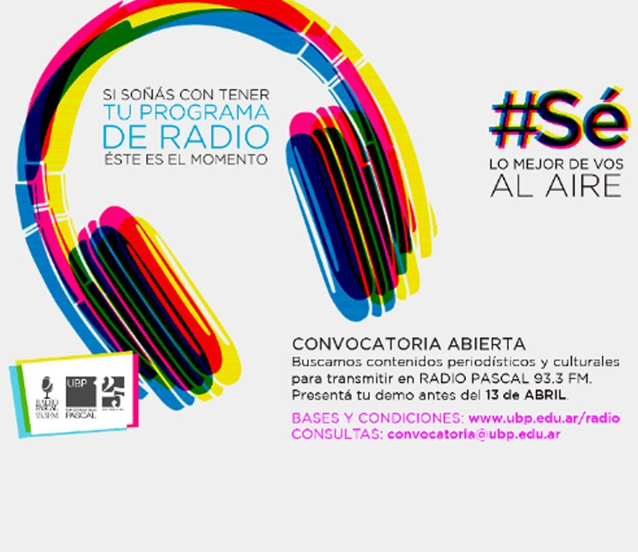 Radio Pascal, 93.3: Convocatoria abierta
