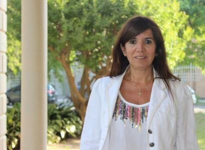 Claudia Zalazar, docente de la carrera de Abogacía de la UBP.