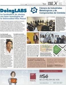 Suplemento Ingeniería Global. Diario Comercio y Justicia.
