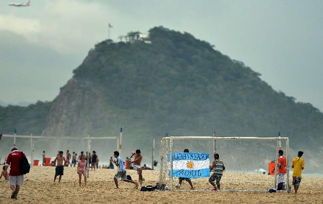 Las playas de Río uno de los destinos elegidos por los argentinos.