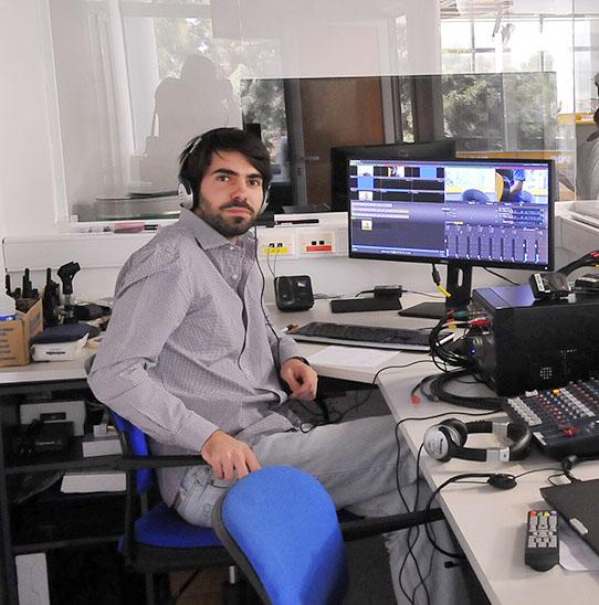 Blanco, el productor de contenidos audiovisuales de LA VOZ