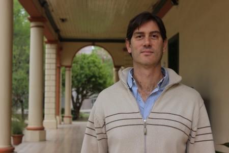 Sergio Martinez, docente de la UBP.