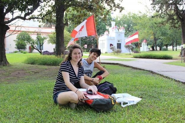 El CRI recibió a nuevos alumnos extranjeros
