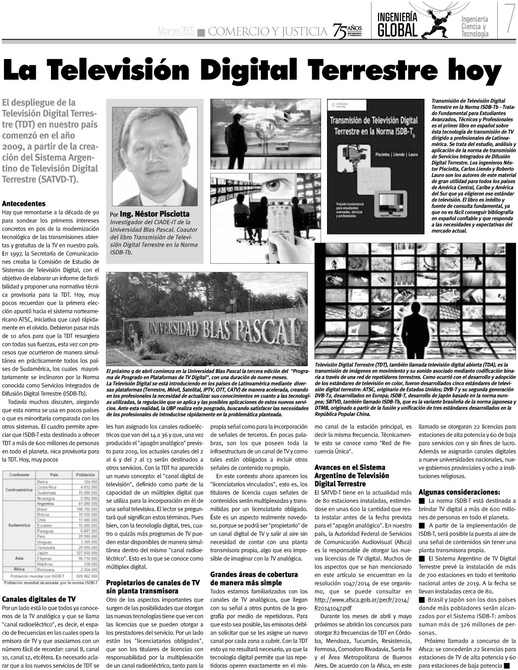 Suplemento Ingeniería Global