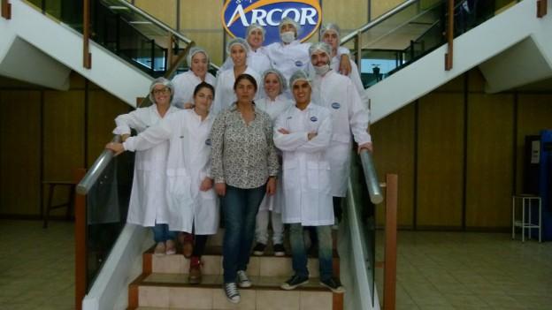 La UBP de visita en Arcor