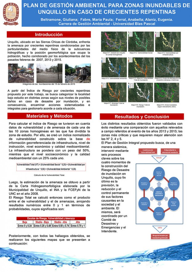 Gestión Ambiental: una investigación sobre inundaciones en Unquillo