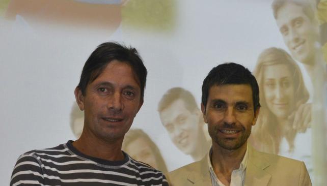 Disertantes. Luis Antoniazzi y Rubén Pérez, en mayo en la Universidad Blas Pascal.