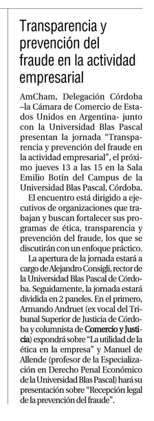 Diario Comercio y Justicia