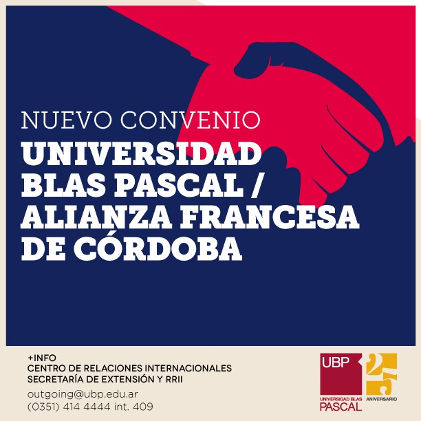 Acuerdo de cooperación con la Alianza Francesa de Córdoba