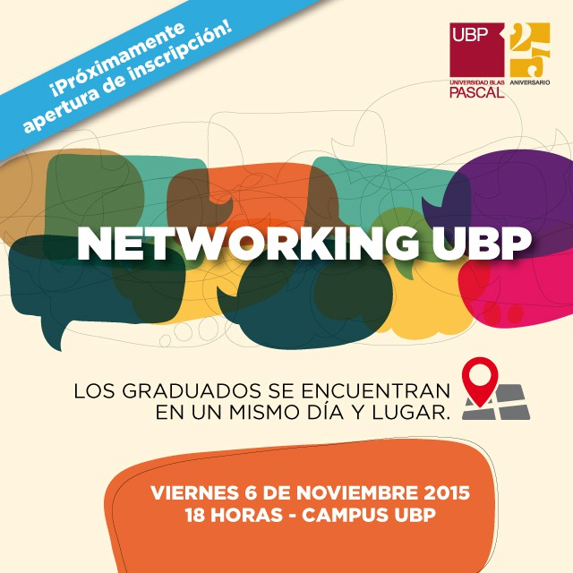 Se viene el primer Networking UBP