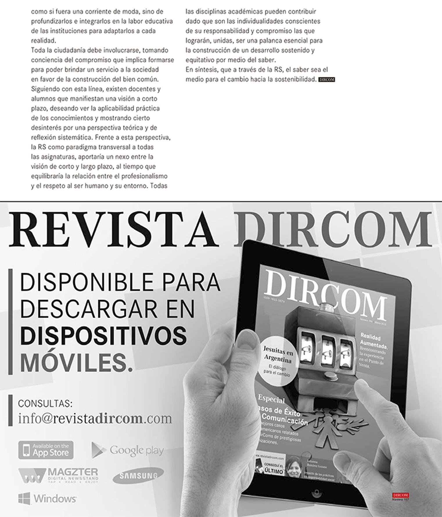 Revista DIRCOM Nº 107