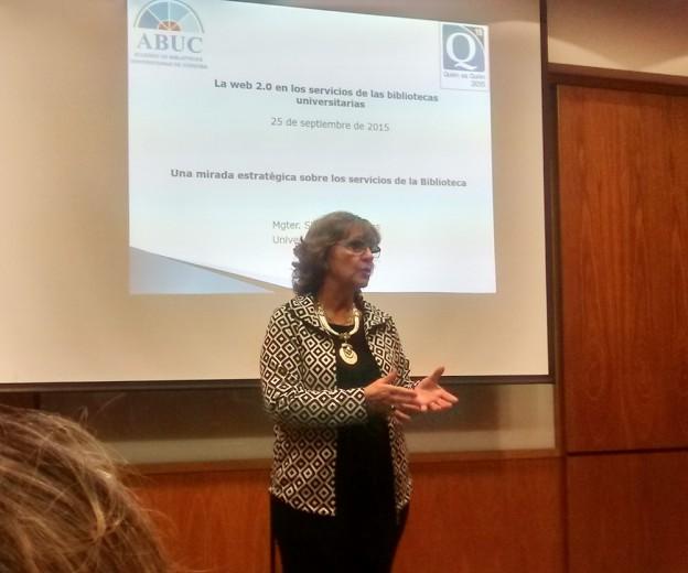 Participación en ABUC sobre bibliotecas universitarias