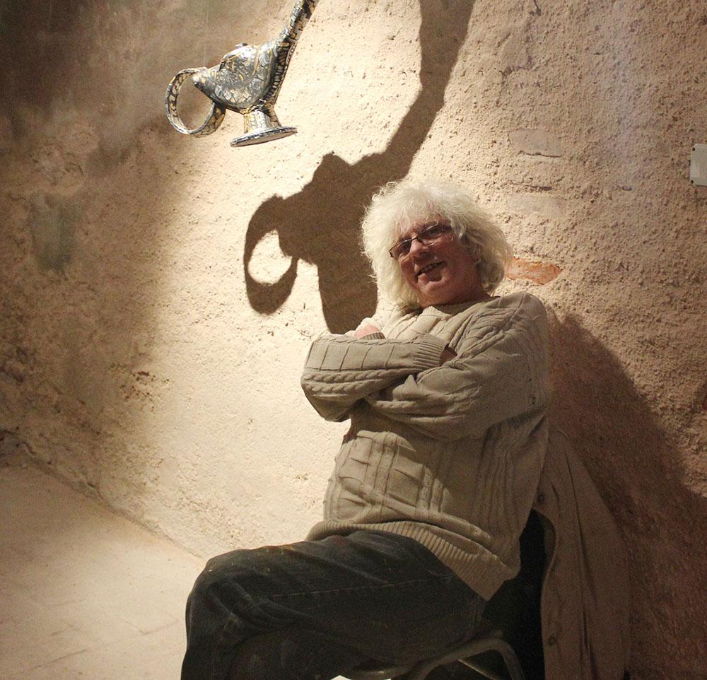 """Jorge Cuello, el artista de """"Efectos Secundarios"""""""