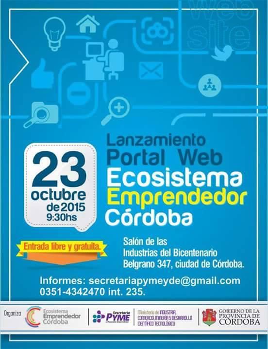 Portal Web del Ecosistema Emprendedor de Córdoba