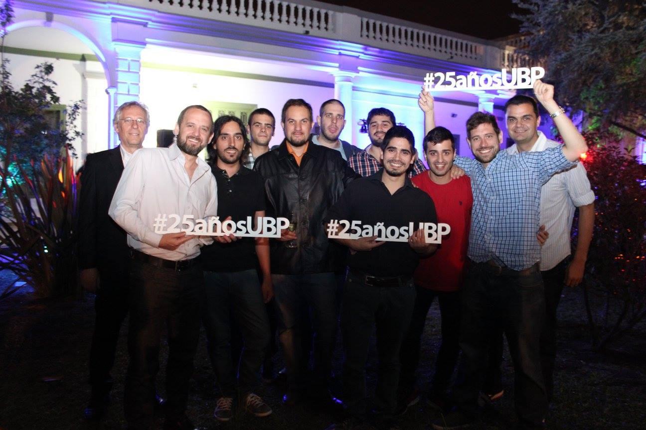 ¡Brindar por los 25 años de la UBP!