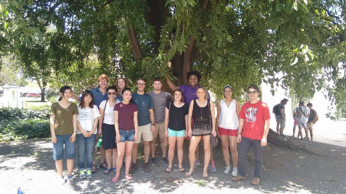 Bienvenida a los estudiantes extranjeros