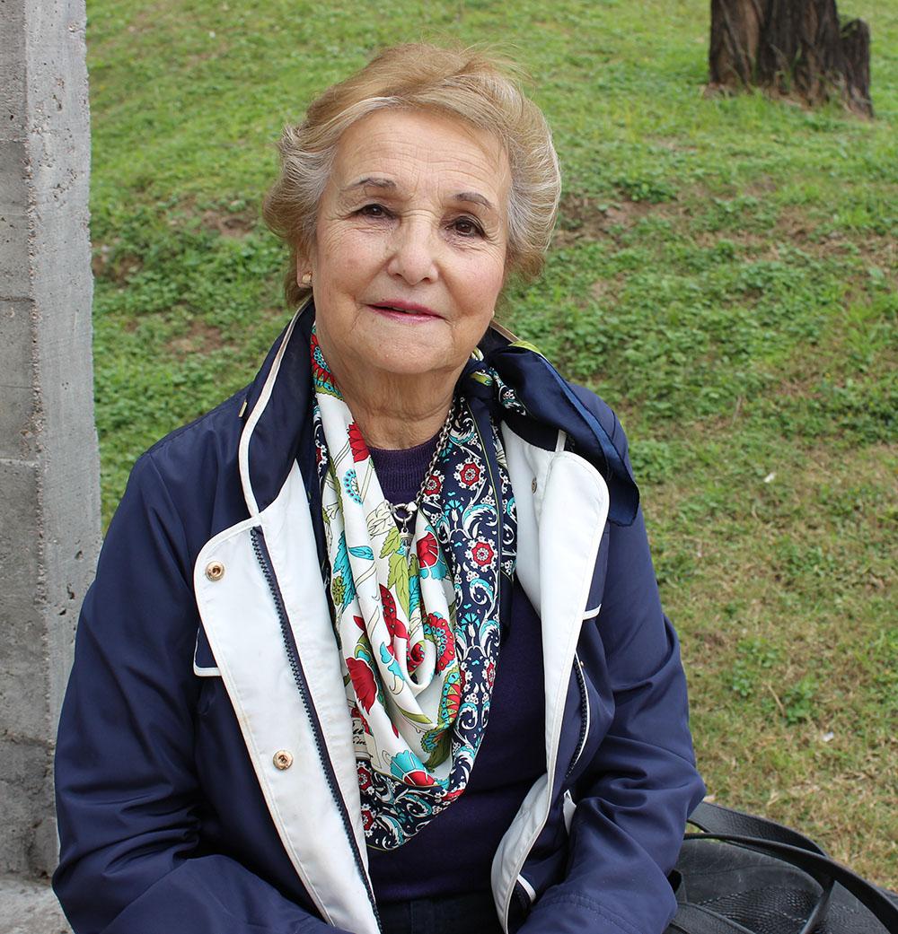 Una alumna de 80 años