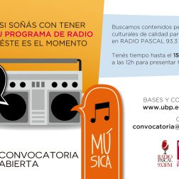 Convocatoria Radio