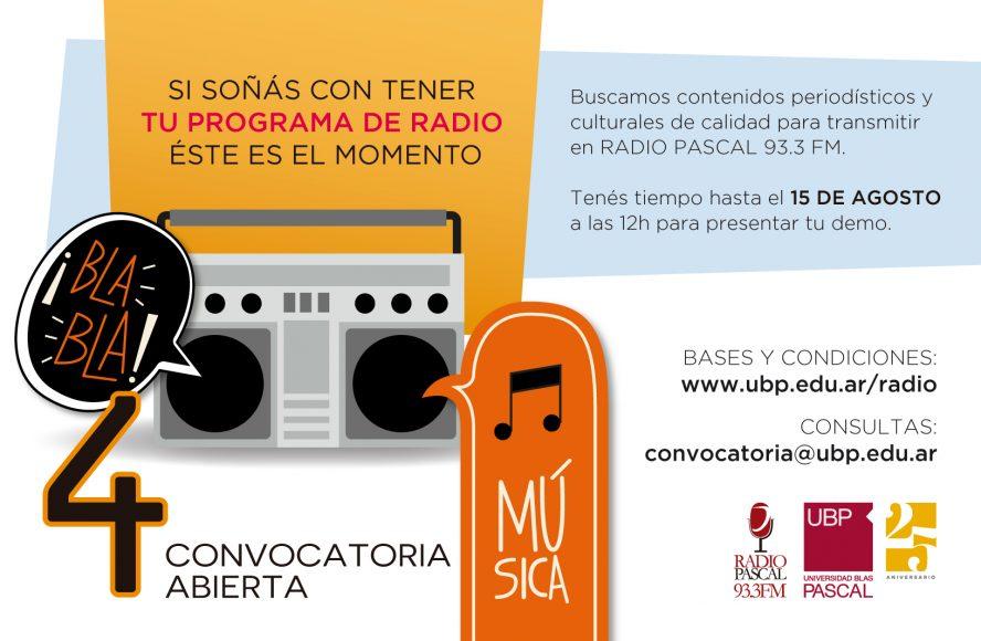 Convocatoria Radio