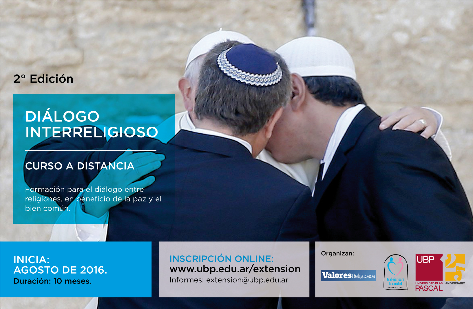Diálogo Interreligioso: Abren las inscripciones para la 2° Edición