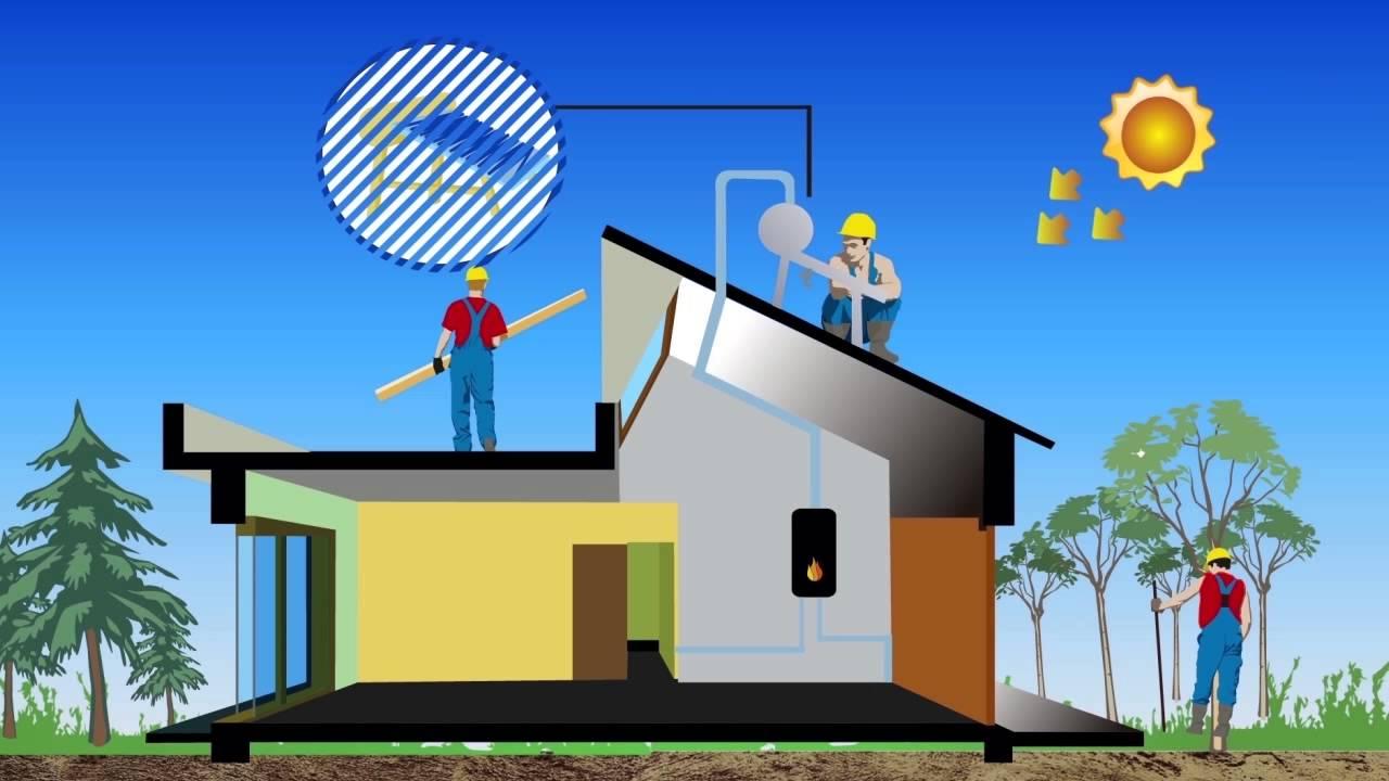 Viviendas bioclimáticas con tecnología solar