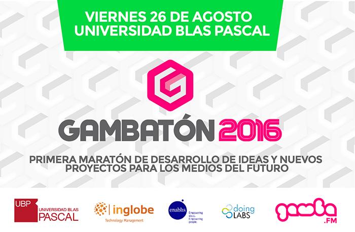 Gambatón: maratón de proyectos mediáticos