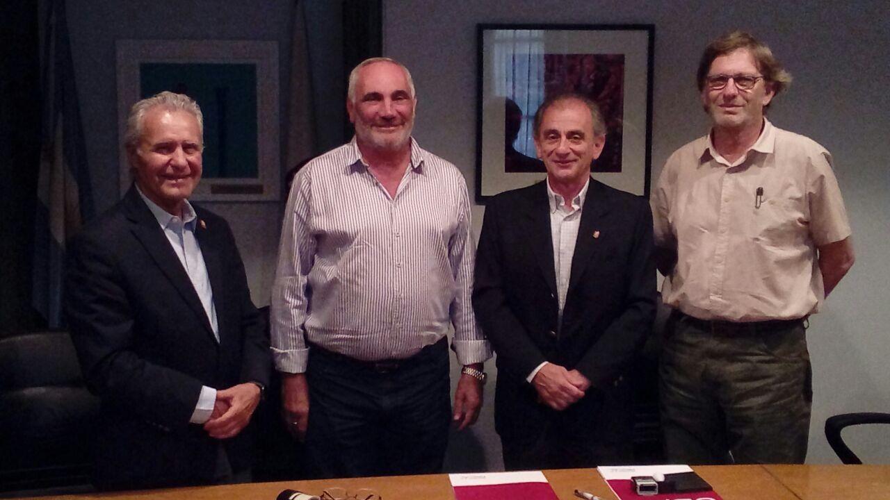 Acuerdo con la Municipalidad de Balnearia sobre recuperación arquitectónica