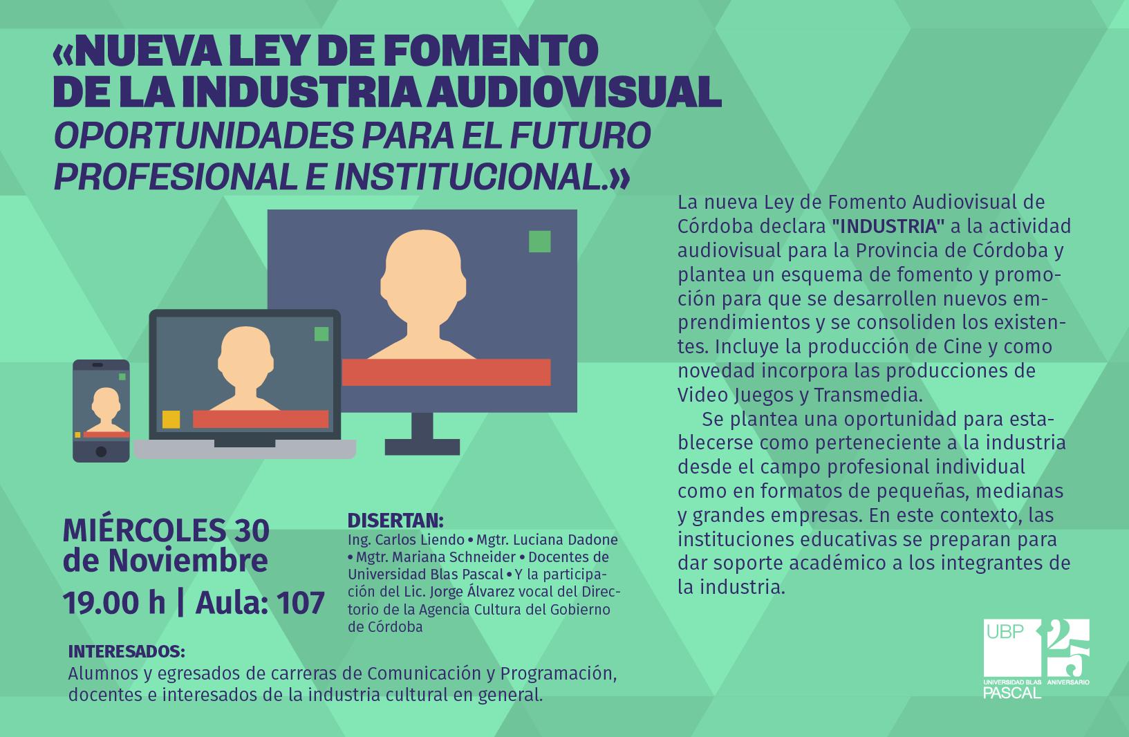 Nueva legislación: promover las industrias audiovisuales