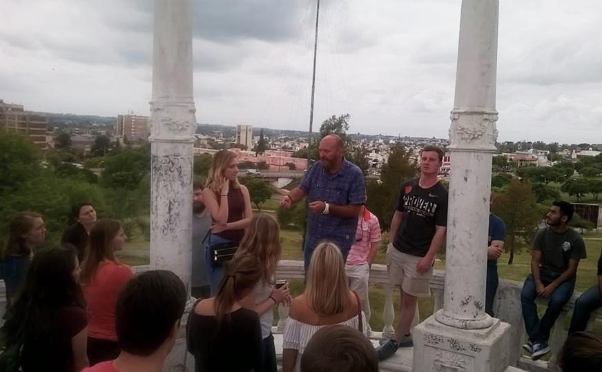 City Tour para los estudiantes de intercambio de la UBP
