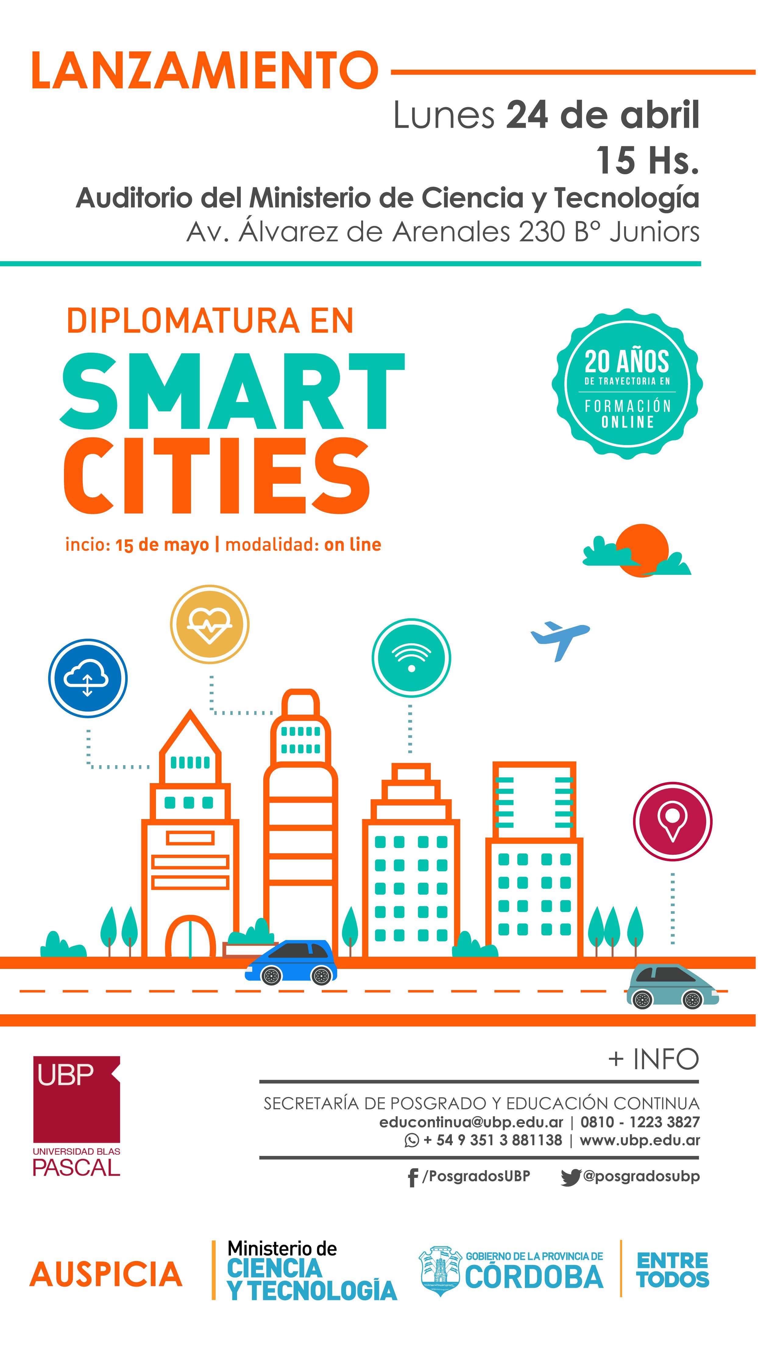 Lanzamiento Diplomatura en Smart Cities