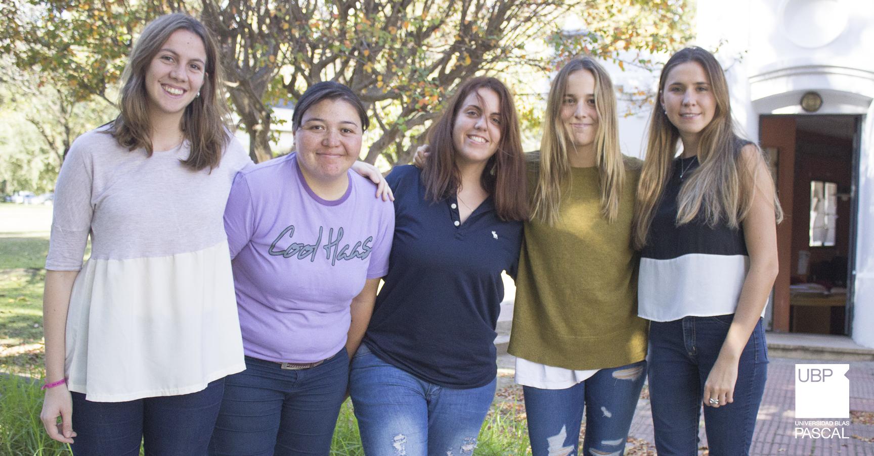 Cinco alumnas realizarán un intercambio gracias a la Beca Santander