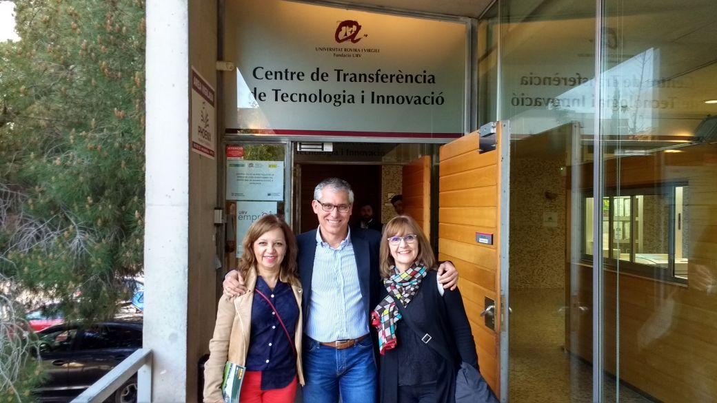 Contactos profesionales con la Universidad de Rovira i Virgili