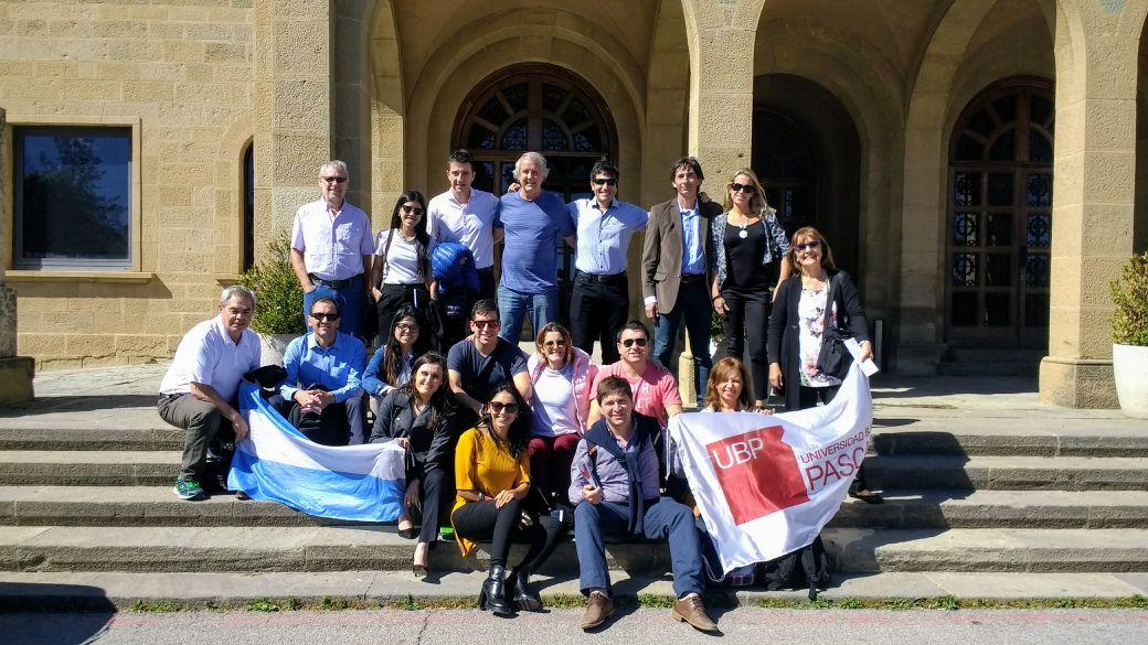 Los alumnos del MBA visitan organizaciones europeas