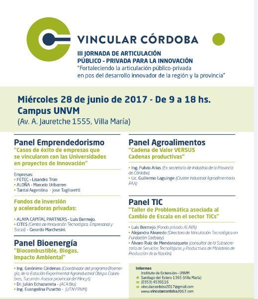 Vincular Córdoba 2017