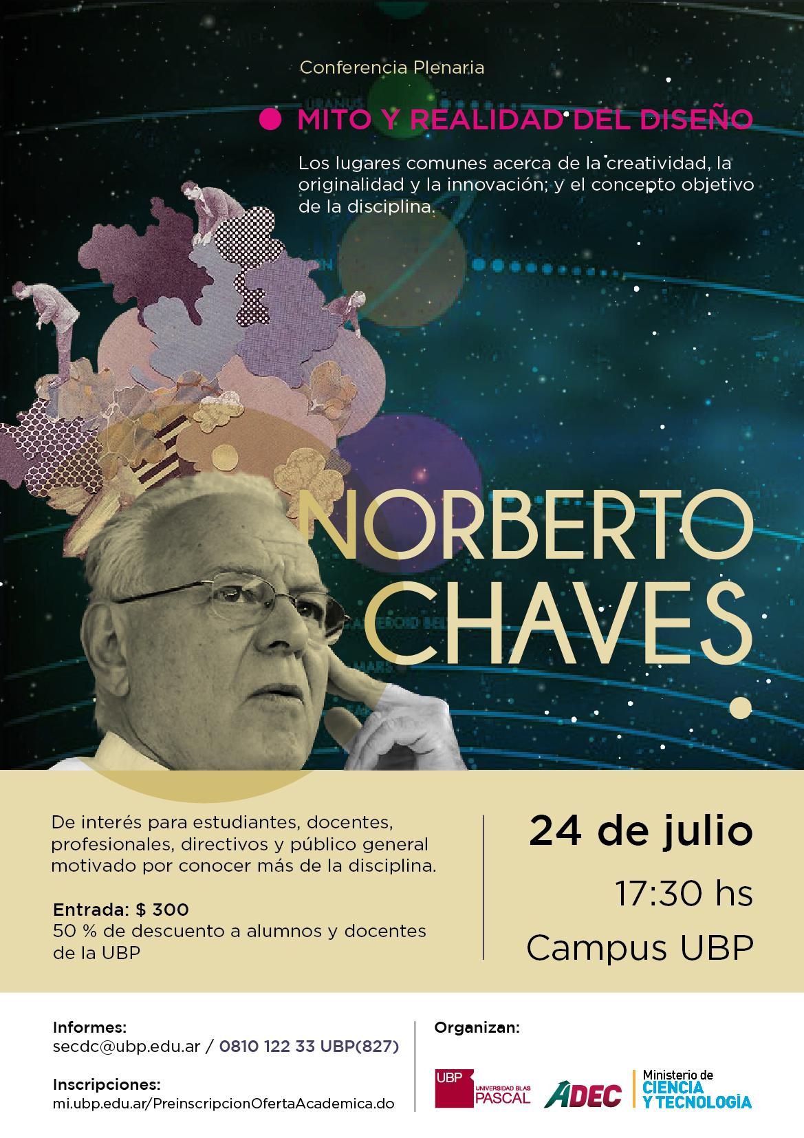Norberto Chaves: Conferencia, Mito y realidad del diseño