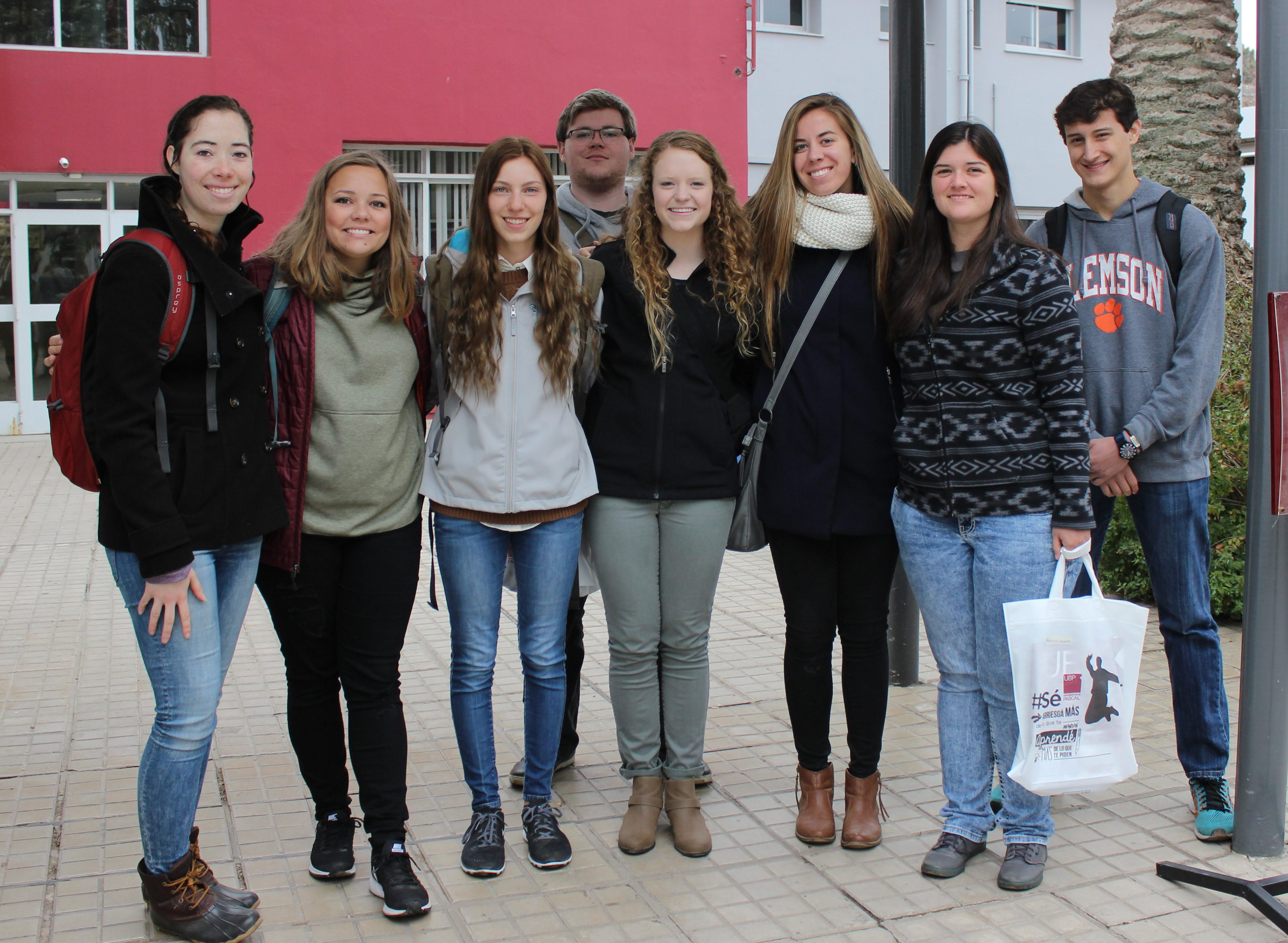 Alumnos de EEUU incorporan la cultura cordobesa