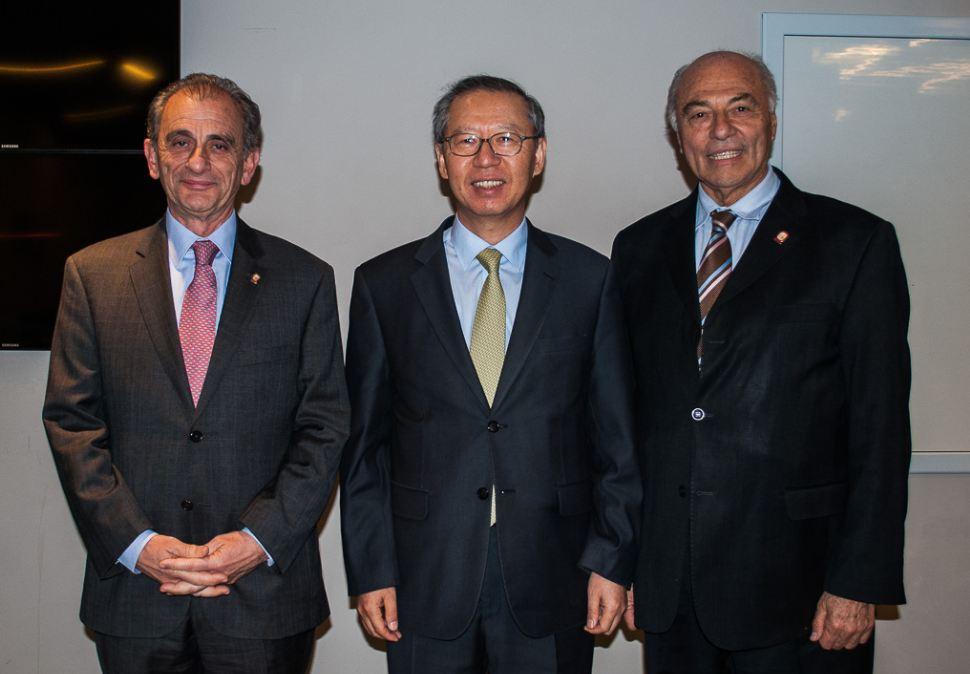 El Embajador de Corea disertó en la UBP