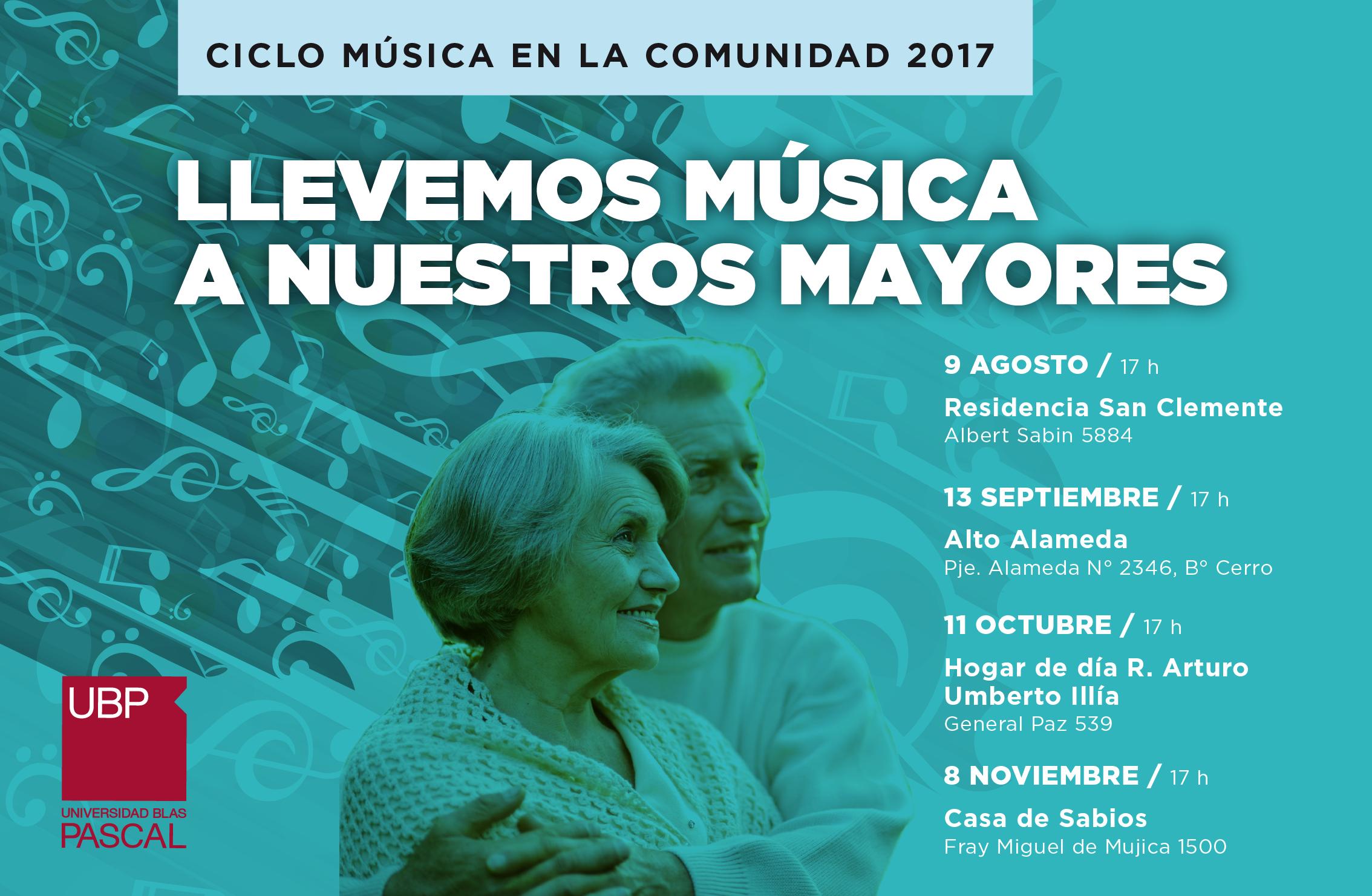 RSU: llevemos música a nuestros mayores