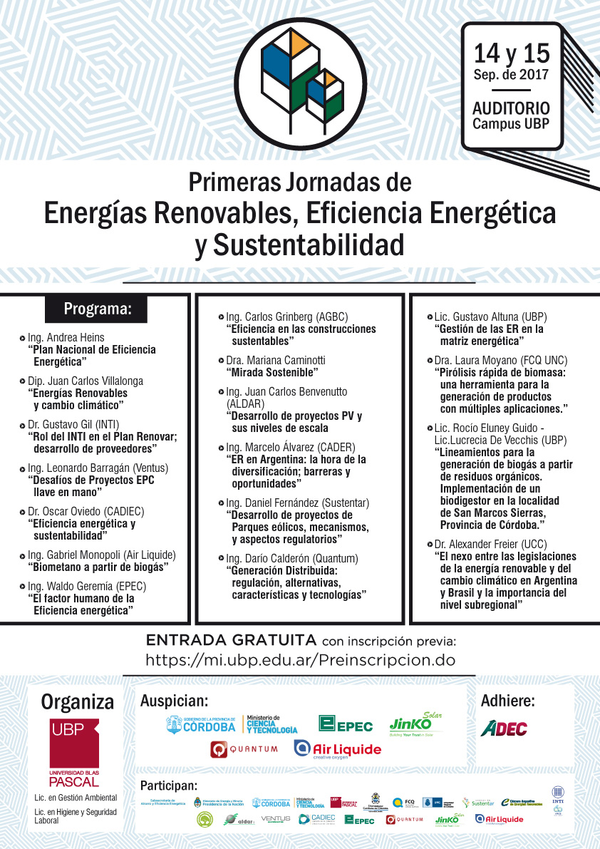 Jornada de Energías Renovables