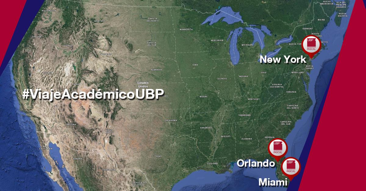 Alumnos de Comunicación viajan a NYC, Orlando y Miami