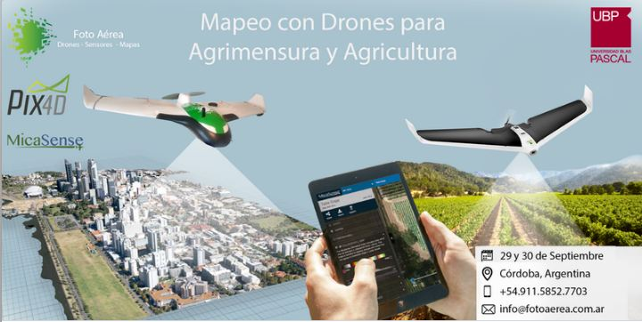 Mapeo con Drones para Agricultura y Agrimensura