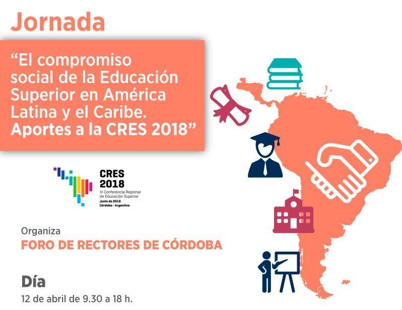 Jornada: aportes a la CRES 2018