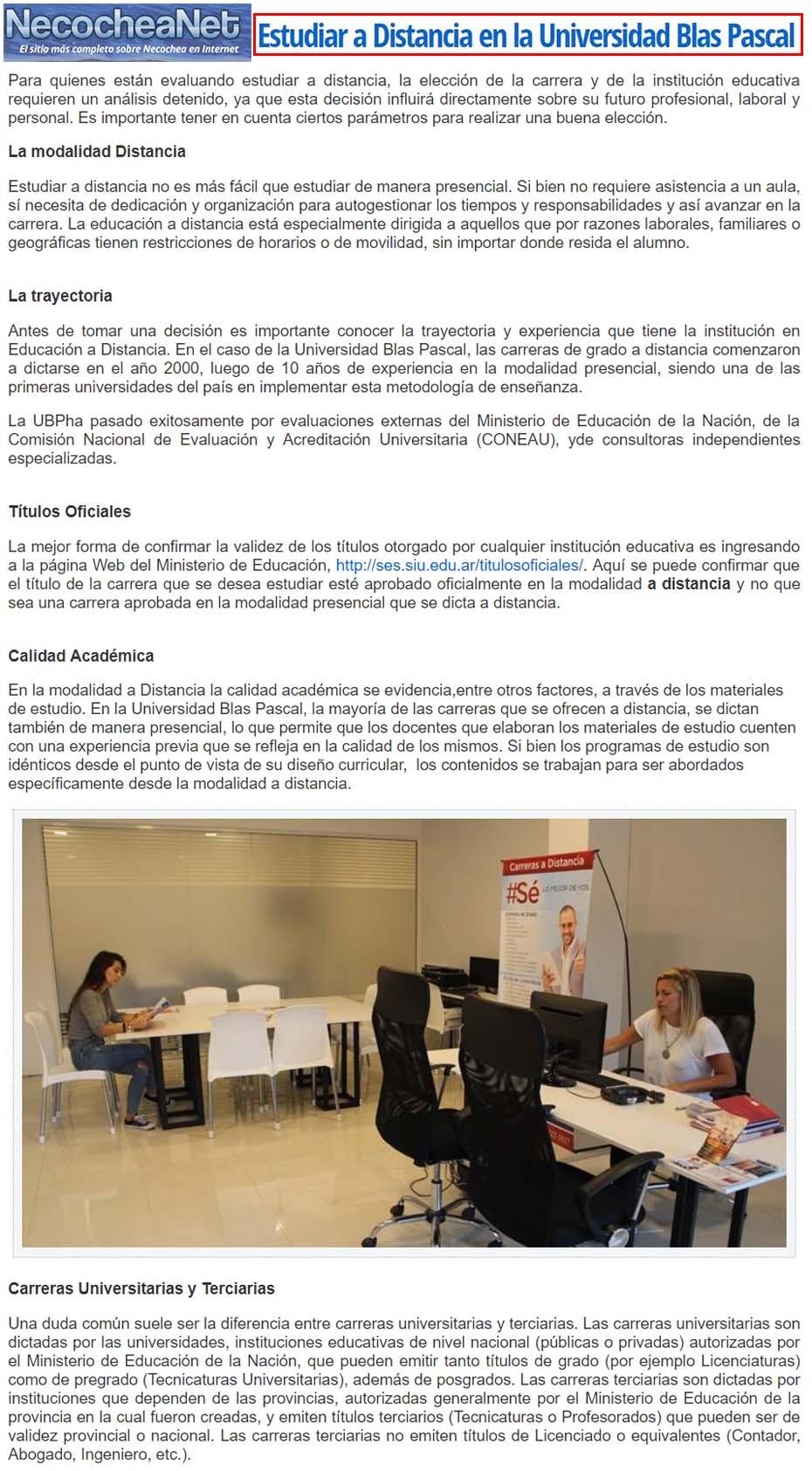8 06 2018 estudiar a distancia en la universidad blas for Estudiar interiorismo a distancia
