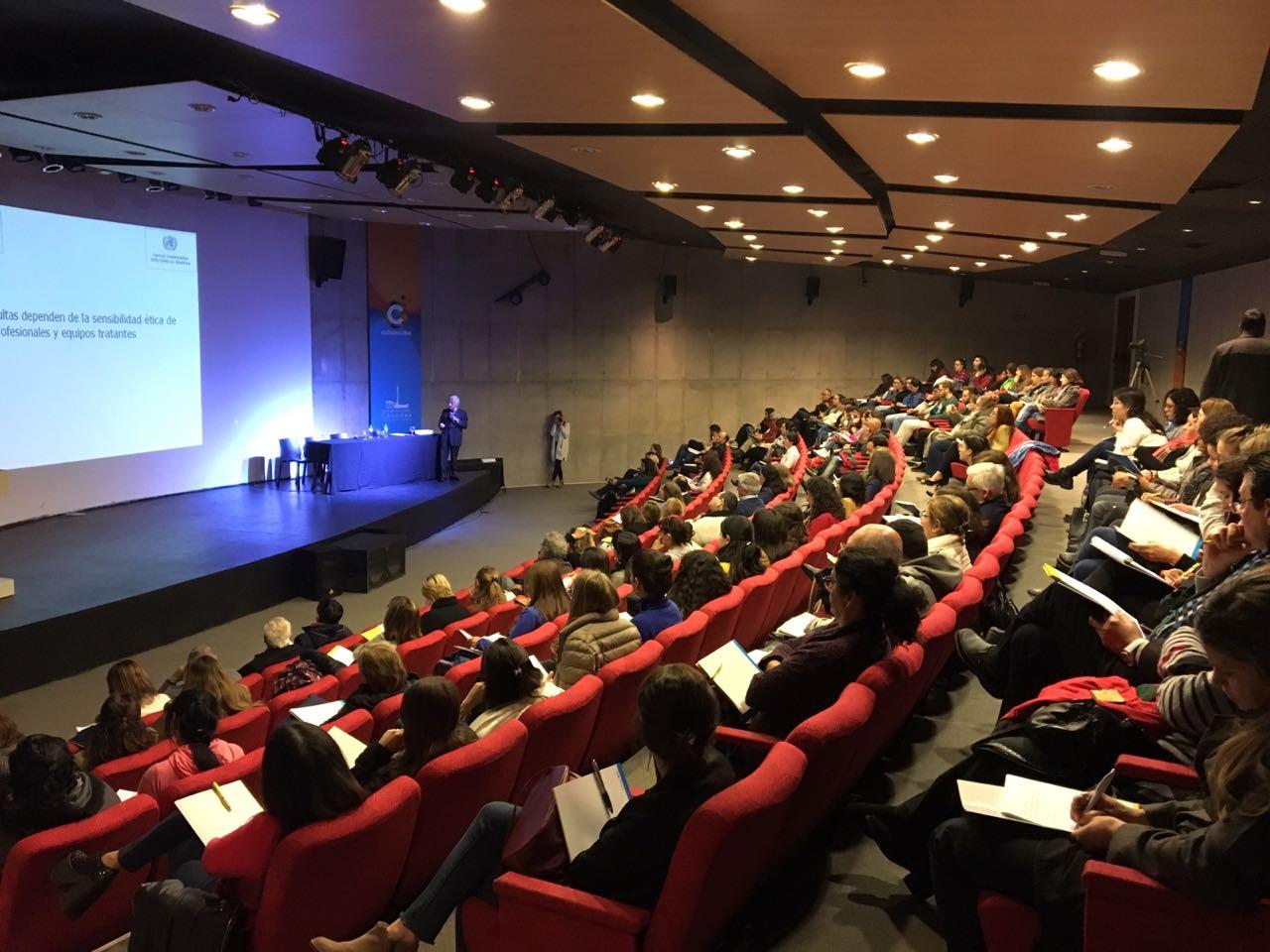 Prof. Carranza expuso en las Jornadas Provinciales de Bioética